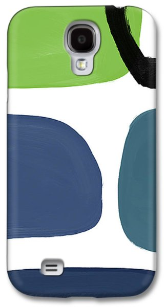 Stones 7- Modern Art By Linda Woods Galaxy S4 Case