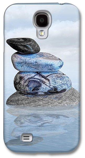 Stones In Water Galaxy S4 Case by Gill Billington