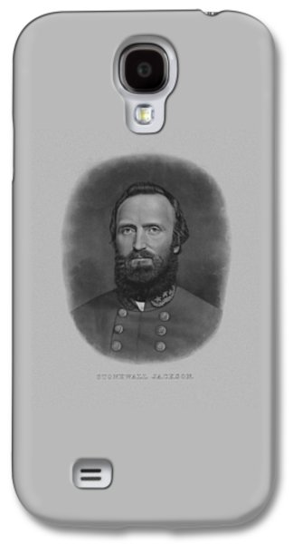 Stonewall Jackson Galaxy S4 Case by War Is Hell Store