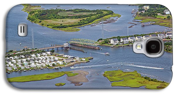 Stopping Traffic Topsail Island Galaxy S4 Case by Betsy Knapp