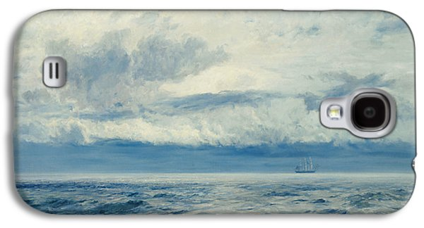 Storm Brewing Galaxy S4 Case by Henry Moore