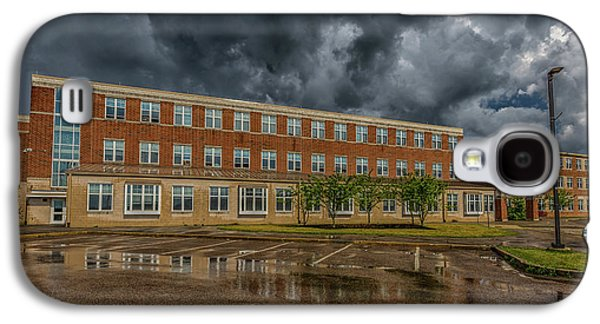 Storm Clouds Over Milton High School Galaxy S4 Case