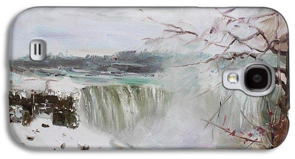 Storm In Niagara Falls  Galaxy S4 Case by Ylli Haruni