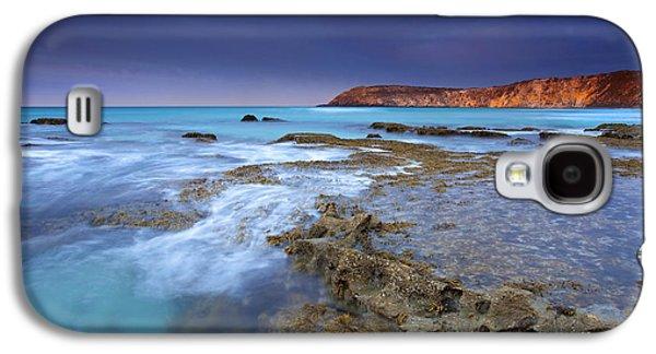 Kangaroo Galaxy S4 Case - Storm Light by Mike  Dawson
