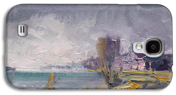 Storm Over Buffalo River  Galaxy S4 Case by Ylli Haruni