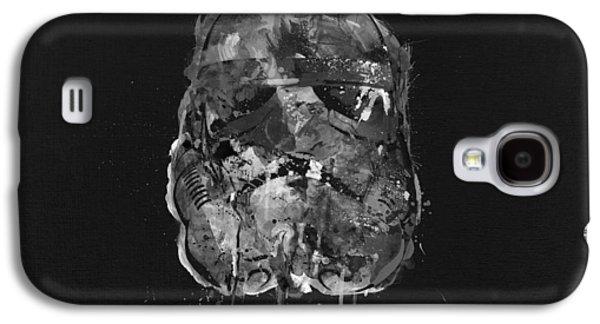 Stormtrooper In Shades Galaxy S4 Case by Mitch Boyce