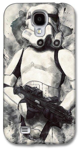 Stormtrooper Galaxy S4 Case by Taylan Apukovska