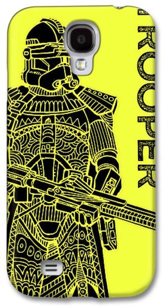Stormtrooper - Yellow - Star Wars Art Galaxy S4 Case