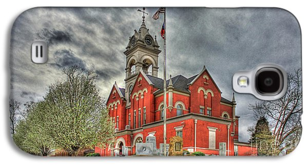 Stormy Day Jones County Georgia Court House Art Galaxy S4 Case