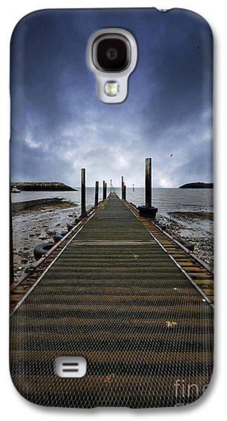 Stormy Jetty Galaxy S4 Case by Meirion Matthias