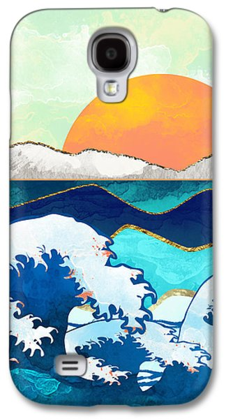 Landscapes Galaxy S4 Case - Stormy Waters by Spacefrog Designs