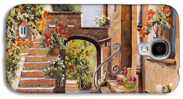 stradina di Cagnes Galaxy S4 Case by Guido Borelli
