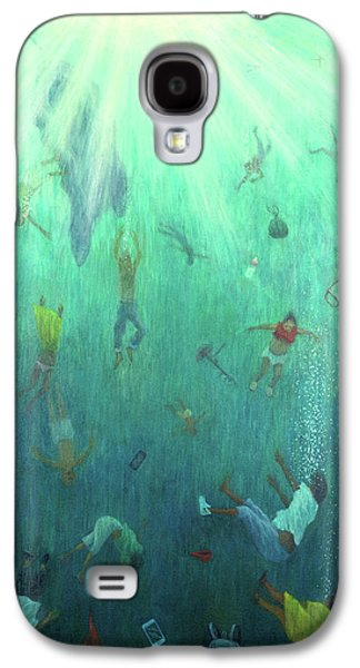 Strange Fish Galaxy S4 Case by Tilly Willis