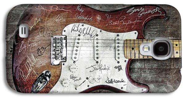Strat Guitar Fantasy Galaxy S4 Case by Mal Bray