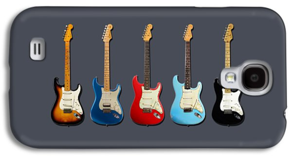 Guitar Galaxy S4 Case - Stratocaster by Mark Rogan