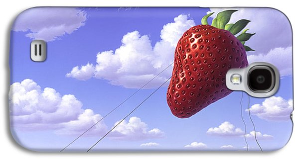 Strawberry Field Galaxy S4 Case