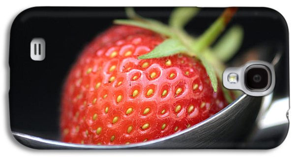 Strawberry Spoon Galaxy S4 Case by Tim Gainey