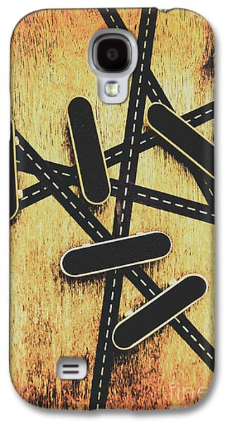 Street Skating Background Galaxy S4 Case by Jorgo Photography - Wall Art Gallery