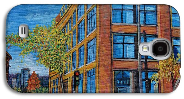 Street Study Montreal Galaxy S4 Case by Reb Frost