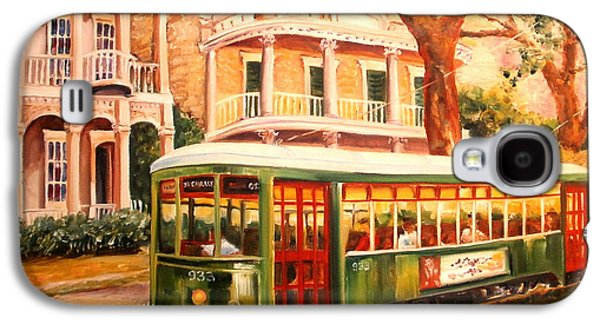 Streetcar In The Garden District Galaxy S4 Case