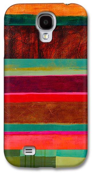 Stripe Assemblage 1 Galaxy S4 Case