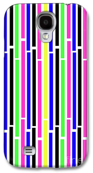 Stripes Galaxy S4 Case by Louisa Knight