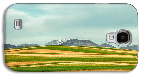 Stripes Of Crops Galaxy S4 Case by Todd Klassy