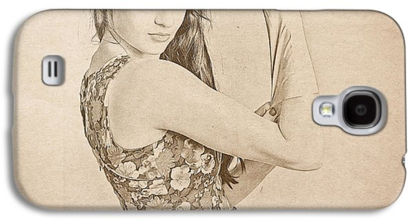 Strong 1950s Housewives Galaxy S4 Case