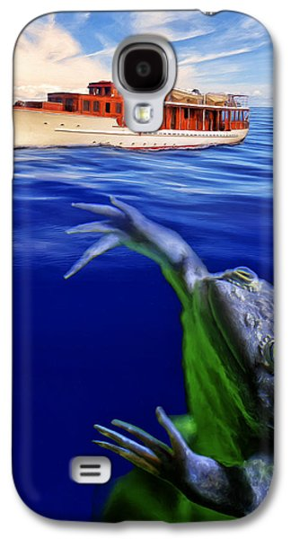 Strong Cross Currents And A Vicious Undertoad Galaxy S4 Case by Dominic Piperata