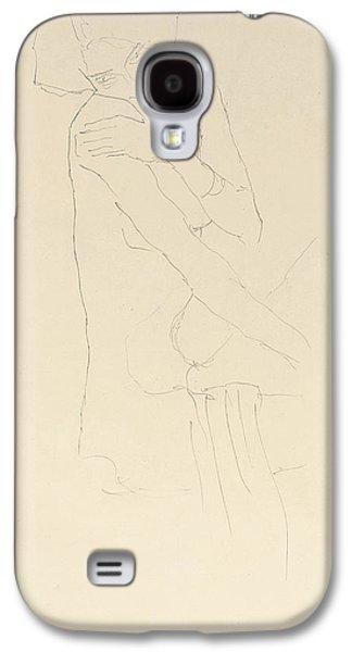 Study For Adele Bloch Bauer II Galaxy S4 Case by Gustav Klimt