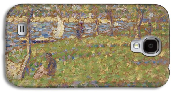 Loose Style Galaxy S4 Case - Study For La Grande Jatte by Georges Pierre Seurat