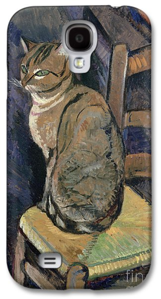 Study Of A Cat Galaxy S4 Case by Suzanne Valadon