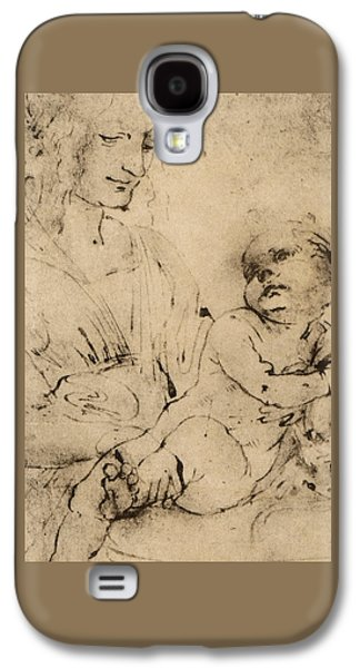Study Of A Madonna And Child Galaxy S4 Case