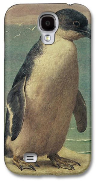 Study Of A Penguin Galaxy S4 Case by Henry Stacey Marks