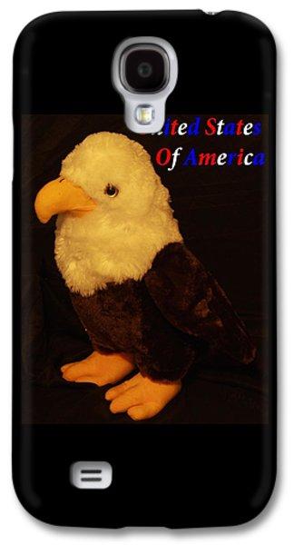 Stuffed America Eagle Galaxy S4 Case by John Strapp