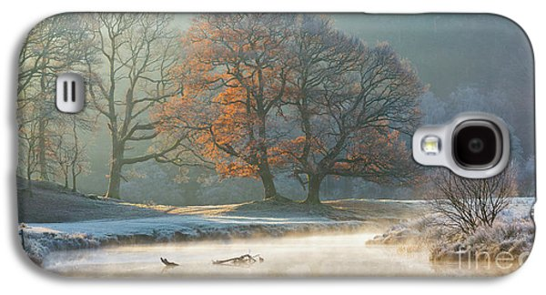 stunning winter light on the river Brathay Galaxy S4 Case by Tony Higginson