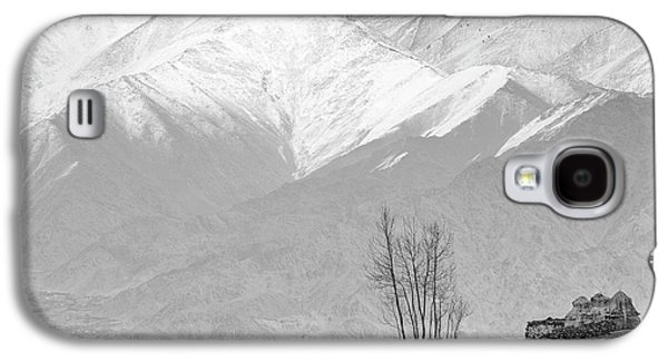 Stupa And Trees Galaxy S4 Case