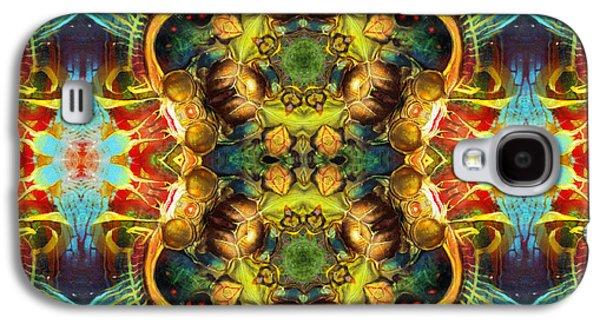 Subconscious Sacred Scrolls Galaxy S4 Case by Georgiana Romanovna