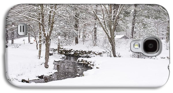 Sudbury Ma Winter Stream Galaxy S4 Case by Toby McGuire