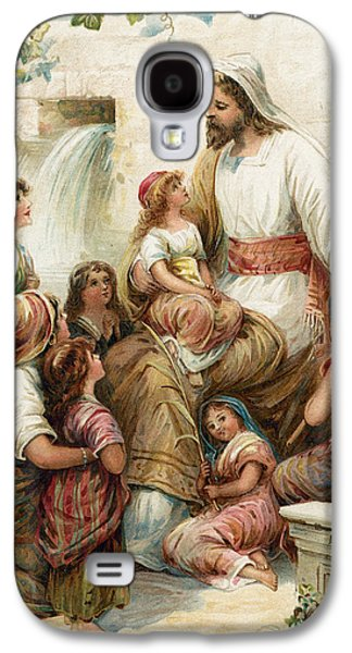 Suffer The Little Children To Come To Me Galaxy S4 Case by Robert Ambrose Dudley