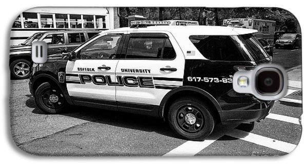 suffolk university campus police patrol vehicle Boston USA Galaxy S4 Case