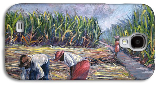Sugarcane Harvest Galaxy S4 Case