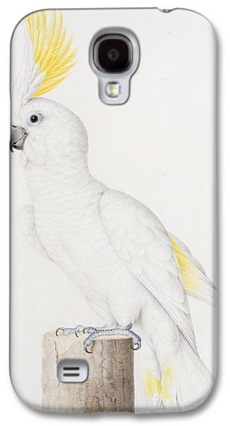 Sulphur Crested Cockatoo Galaxy S4 Case by Nicolas Robert