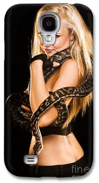 Python Galaxy S4 Case - Sultry Sedutive Snake Dancer by Jorgo Photography - Wall Art Gallery