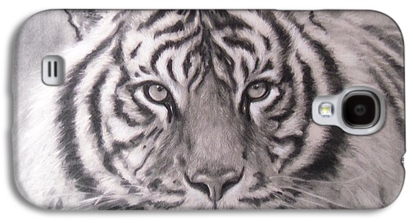 Sumatran Tiger Galaxy S4 Case by Adrienne Martino