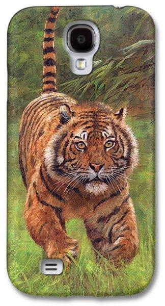 Sumatran Tiger Running Galaxy S4 Case