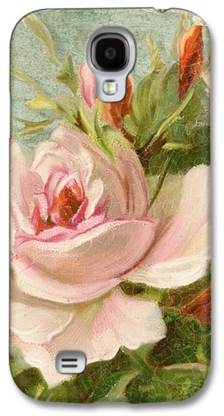 Summer At Cape May - Porch Roses Galaxy S4 Case