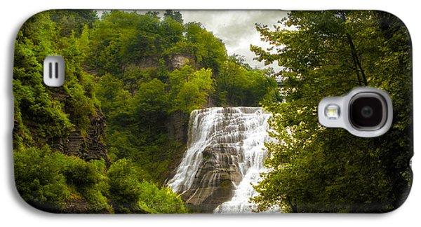 Summer At Ithaca Falls Galaxy S4 Case