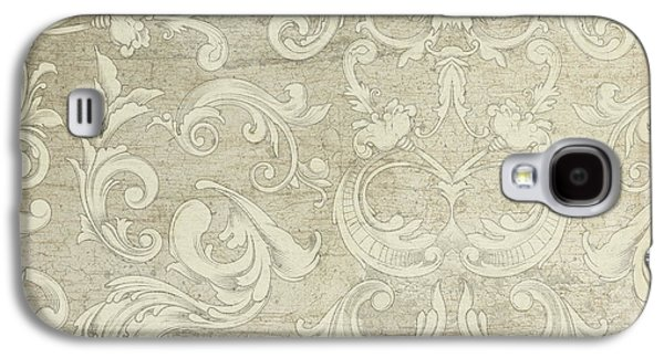 Summer At The Cottage - Vintage Style Wooden Scroll Flourishes Galaxy S4 Case