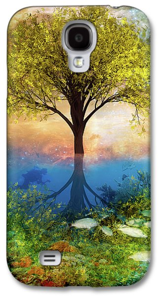 Summer At The Reef Galaxy S4 Case